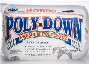 "Hobbs Polyester Wadding 108"" wide"