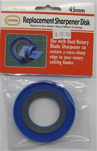 45mm Rotary Blade Replacement Sharpener Disk