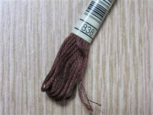 838 - Very Dark Beige Brown