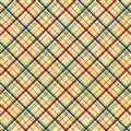 Critters Plaid Cream