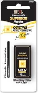 Regal Superior Quilting Needles/Between Size 12