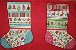 Novelty Stocking Panel