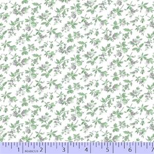 Gracious Skies - Grey Small Floral