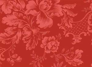 Classic Elegance - Damask Red