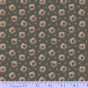Small Floral on Grey