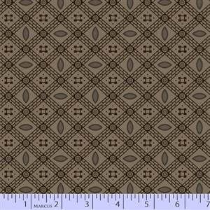 Cozies Flannel - Dark Taupe Check
