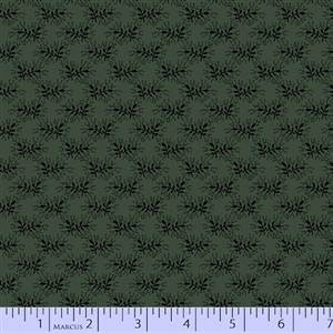 Cozies Flannel - Green Leaves