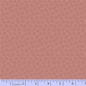 Cozies Flannel - Peach Dot Tonal