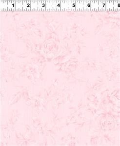 Emma's Garden - Floral Pink Tone on Tone