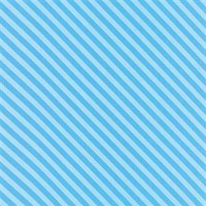 Grow - Blue Diagonal Stripe