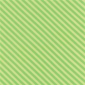 Grow - Green Diagonal Stripe