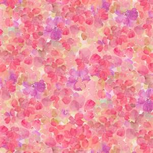 Sunkissed - Clustered Petals - Pink