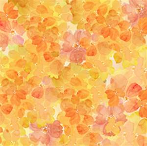 Sunkissed - Clustered Petals - Dk Yellow