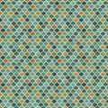 Arabesque - Tonal Geometric - Teal