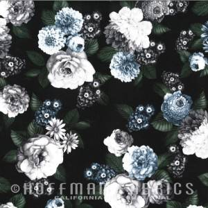 A Floral Perspective - Ice Blue
