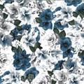 A Floral Perspective - Dusty Blue