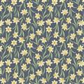 Flos Little Flowers - Yellow Flower on Dk Blue