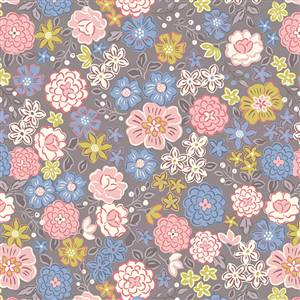 Flos Little Flowers - Lt Multi on Grey