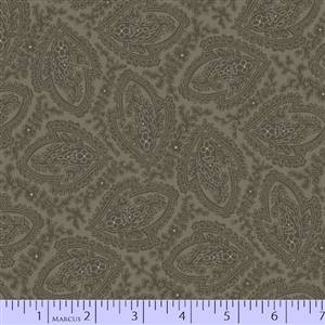 Putty & Mortar - Green Paisley