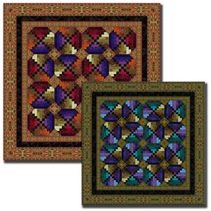 Jinny Beyer - Marrakesh Red Quilt Kit