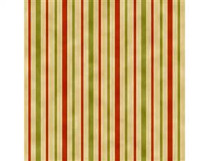 UTAS Hampton Stripe Orange Green Cream