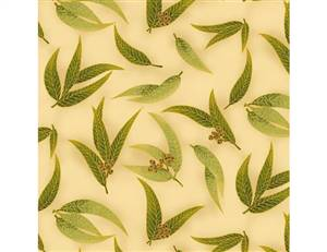 UTAS Gum Leaves Olive Taupe