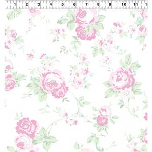Madeline - White Medium Floral