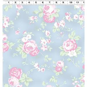 Madeline - Light Denim Medium Floral