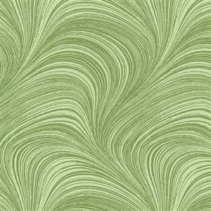 Wave Texture - 2.75m wide - Green