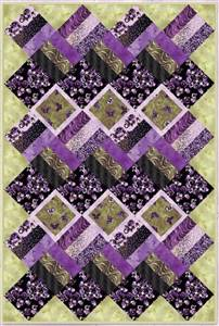 Fields of Violets - Quilt Kit