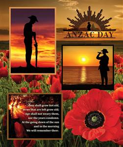 Remembering - Anzac Panel A