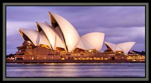 Sydney Sights - Colour Panel - Sydney Opera House