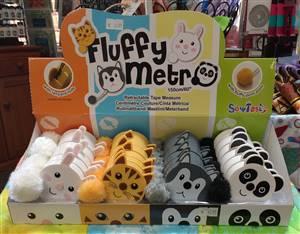 Fluffy Tail Tape measures - Met Zoo
